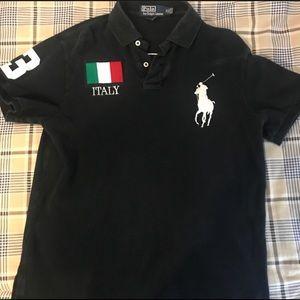 Men's Italy Polo shirt!